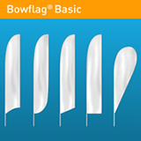 Bowflag® Basic, à fourreau imprimé