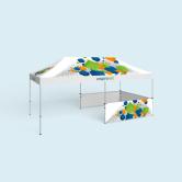 Tente pliable/ Pavillon Basic & Select 3 x 6 m