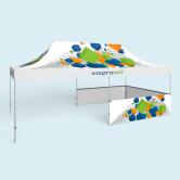 Tente pliable Select/ Pavillon Select 4 x 8 m