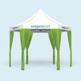 Tente pliable/ pavillon Select Hexagon