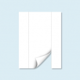 Cloison blanche Hexagon avec porte