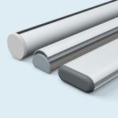 Profilés d'aluminium & accessoires pour suspensions