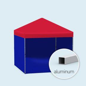 Tente pliante/ pavillon Compact - unicolore