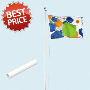 Mât de drapeau Economy