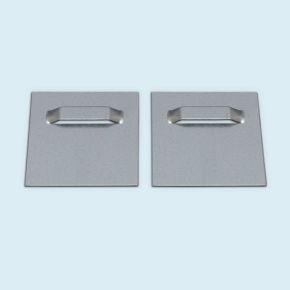 Plaques de fixation adhésives - métal