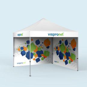 Tente/ pavillon pliant Basic - imprimé