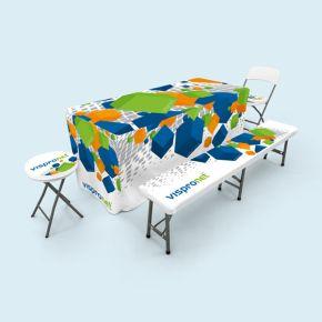 Mobilier pliant avec / sans imprimés textiles