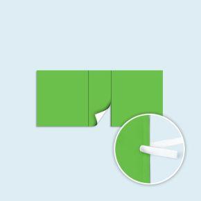 Cloison avec porte pour 4x4 m, 4x6 m, 4x8 m