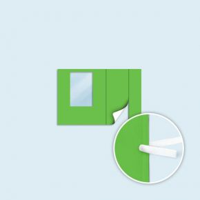 Paroi avec porte pour 3x3 m, 3x4,5 m, 3x6 m