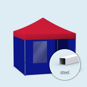 Tente/ pavillon pliable Eco - unicolore