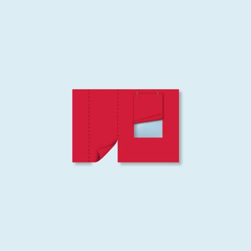 Cloison avec porte et fenêtre pour tente pliable Eco, Basic & Select, 4 couleurs standard au choix