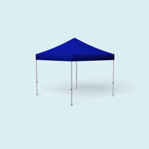 Pavillon Select, 3 x 3 m, bleu
