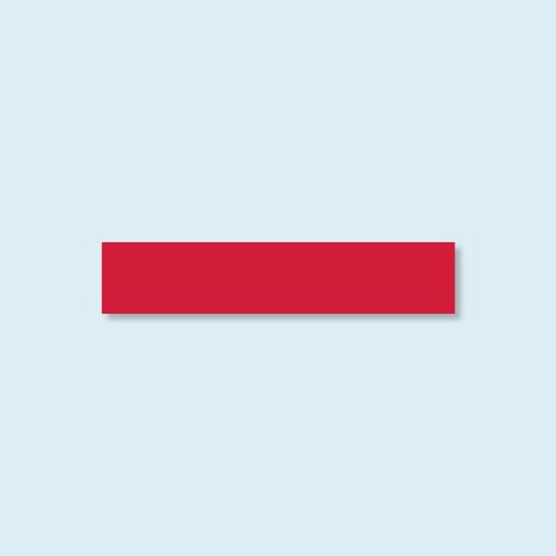 Paroi mi-hauteur Basic/ Select - rouge