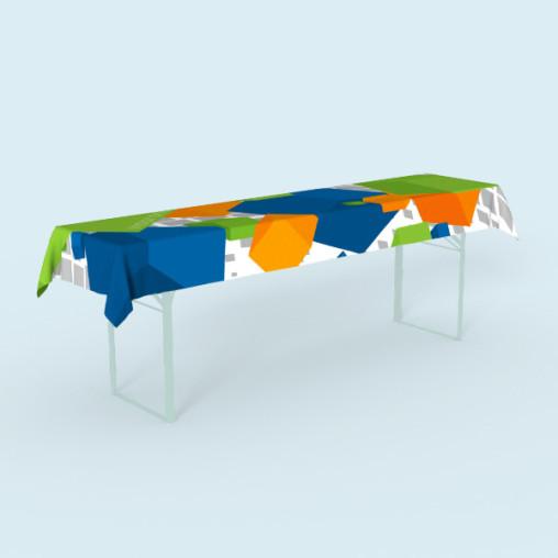 Nappe pour table de brasserie - taille et décor individuels