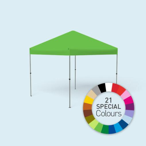 Pavillon Compact, en 21 couleurs spéciales