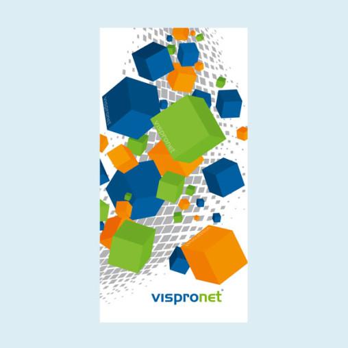 Banderole publicitaire - bannière PVC - format portrait