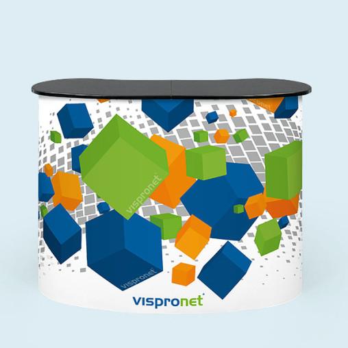 Comptoir promotion Magnet, dim. du support : 130 x 100 x 40 cm