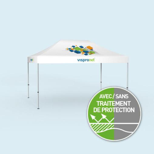 Pavillon pliable Select 3 x 4,5 m, imprimé, sans parois