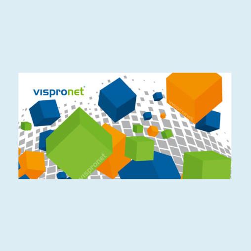 Banderole publicitaire, bâche PVC format horizontal