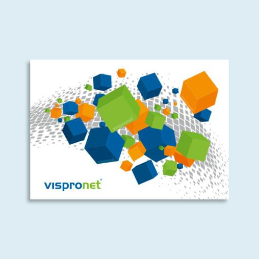 Impression directe sur PVC rigide - paysage
