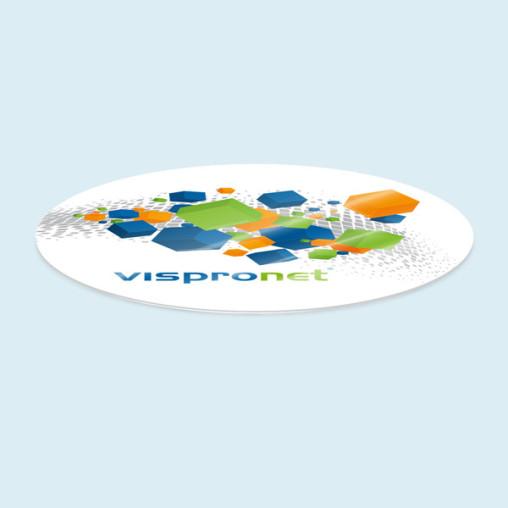 Plaque de protection pour table ronde, jusque ø 200 cm
