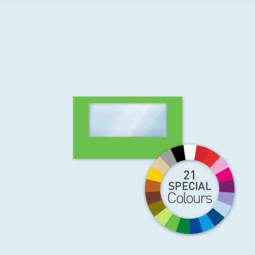 Paroi avec 1 fenêtre panoramique 400 x 220 cm Select, in 21 Sonderfarben erhältlich
