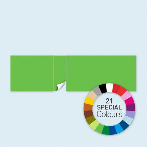Cloison avec 1 porte côté gauche 800 x 220 cm Select, disponible en 21 coloris spéciaux