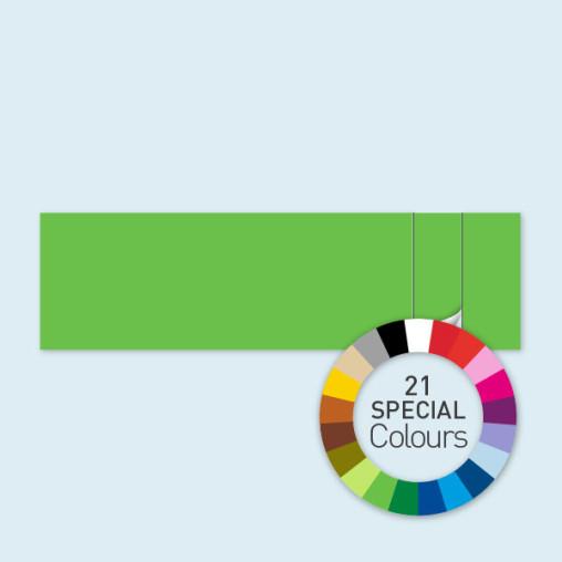 Paroi avec 1 porte à droite 800 x 220 cm Select - existe en 21 couleurs spéciales