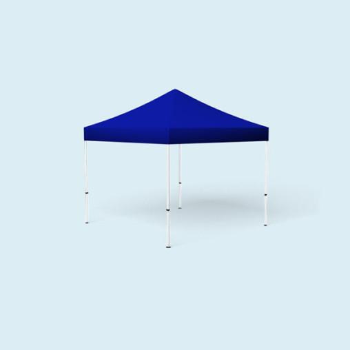 Pavillon Eco, 3 x 3 m, bleu
