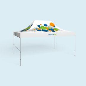 Pavillon pliable Select avec 1 barre transversale pour cloison mi-hauteur