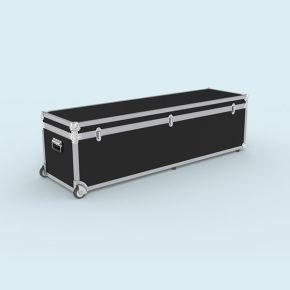 Trolley Box 168/46 - Malle à roulettes, volume utile : 40 x 40 x 162 cm