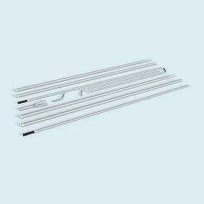 Ensemble de tubes pour Bowflag® Premium Crystal, taille L