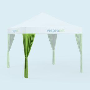 Rideau de pavillon, 80 x 220 cm - individuel, uni, non imprimé