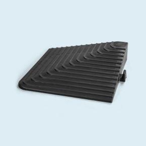 Angle pour dalles de sol, peut supporter des charges jusqu' à 130.000 kg/m²