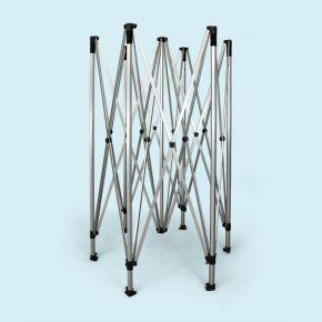 Structure pavillon pliable / tente pliante Hexagon 4 m