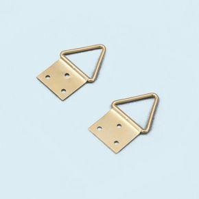 Œillets pour cadre bois - 2 pièces