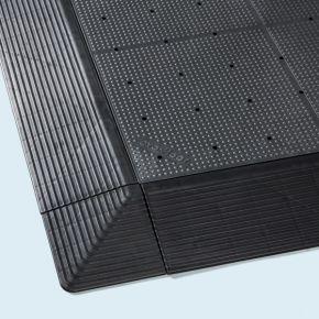 Kit dalles de revêtement de sol pour tente 3 x 6 m, antidérapant