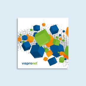 Plaque en PVC expansé, carrée