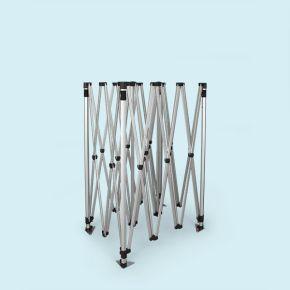 Structure pavillon pliant / tente pliable Select 3 x 4,5 m