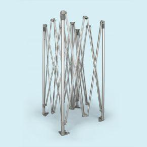 Structure pavillon pliant / tente pliable Select 4 x 4 m