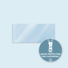 Paroi transparente Basic/ Select 450 x 205 cm - côtés équipés de fermeture éclair