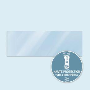 Paroi transparente Basic/ Select 600 x 205 cm - côtés équipés de fermeture éclair