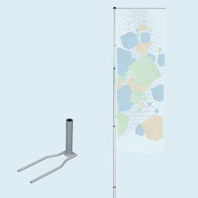 T-Pole® 200 avec pied Economy (pied autocal)