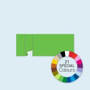 Cloison avec 1 porte à gauche Select 600 x 220 cm - tons directs, côtés avec rubans crochet