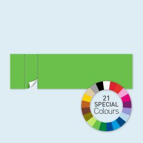 Cloison avec 1 porte à gauche Select 800 x 220 cm - tons directs, côtés avec rubans auto-agrippants