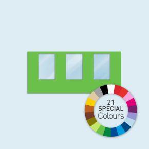 Cloison avec 3 fenêtres 450 x 205 cm Basic/ Select, 21 tons directs au choix
