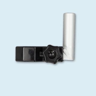 Support vertical pour Bowflag® assorti aux poteaux à profilé octogonal