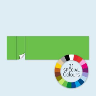 Cloison avec 1 porte à gauche 800 x 220 cm Select, disponible en 21 coloris spéciaux